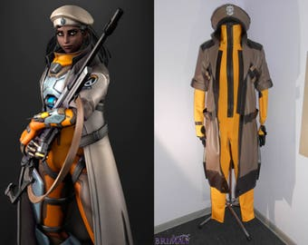 Overwatch Ana Horus cosplay outfit