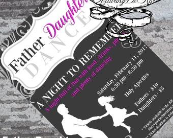 Father Daughter Dance Invitation