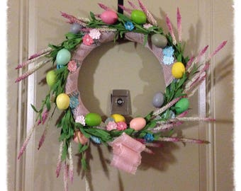 Easter is here! Bunny Wreath.