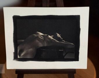 Nude Palladium Print: Nude No. 2719