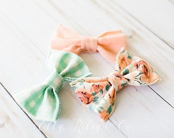 Penny Bow - Baby Bows, Baby Headbands, Newborn Bows
