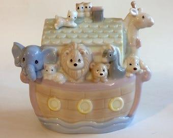 Enesco Noah's Ark music box