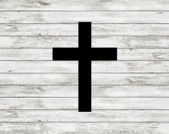 Cross Decal | Christian | Religious | Faith