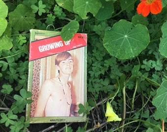 1981 VINTAGE Gay Pulp Fiction: Growing Up by Clay Caldwell