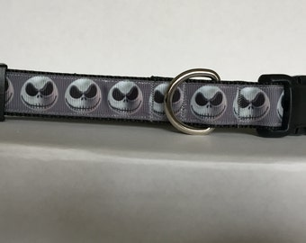 Jack Skellington Smile 1 inch Collar