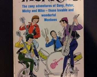 The Monkees (The zany adventures of Davy, Peter, Micky and Mike - those lovable and wonderful Monkees) - 1966