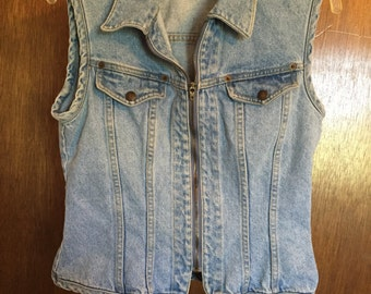 Paris Blues Vintage Denim Vest