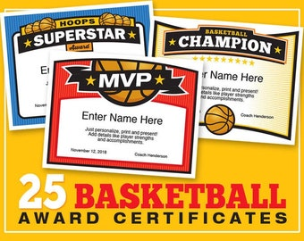 Fantasy football certificates fantasy football trophy 25 basketball certificate templates kid certificates child certificate basketball award certificate templates yelopaper Choice Image