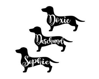 Daschund/Doxie decal/sticker