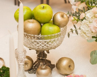 Golden Apples, Sofreh Aghd Decorational Fruites, Persian Aghd Ceremony
