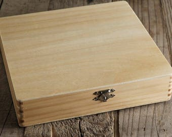 Wood Cigar Boxes 8.25""