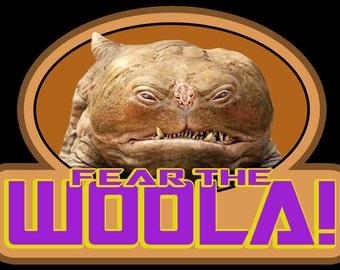 "00's Sci-Fi Classic John Carter ""Fear The Woola!"" custom tee Any Size Any Color"