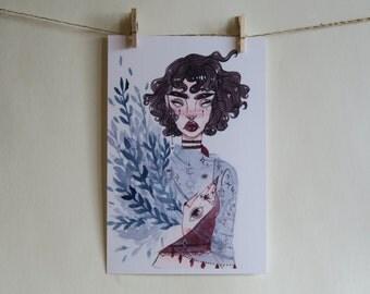 Tarot Tat Art Print