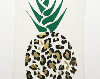 Yeti Cheetah Pineapple - Yeti - Tumbler - Car