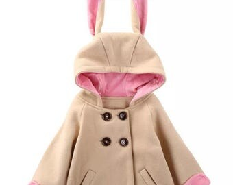 Children's rabbit animal coat
