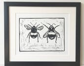 Bee Lino Cut