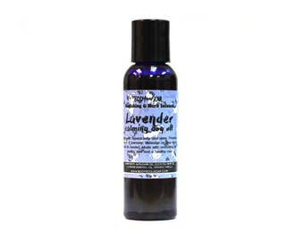 Lavender Dog Oil: Calms Hyperactivity, Promotes Peace and Harmony and Sleep