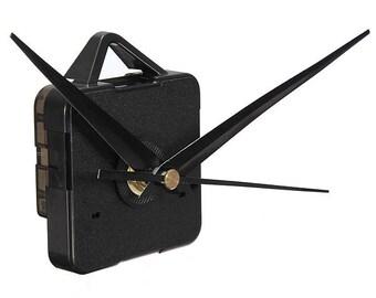 DIY Black Hands Quartz Wall Clock Movement Mechanism U.S.A. Seller Fast Shipping