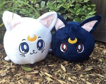 Luna and Artemis: Sailor Moon Plush