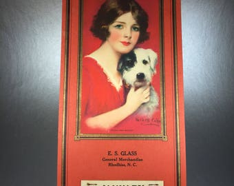 1931 Advertising Calendar