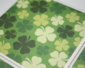St Patrick's Day, ceramic tile drink coasters! St Patricks day decororations! Shramrock decor, green decor, green coasters!