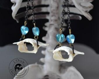 Bones and beads earrings