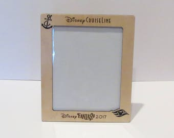 Disney Cruise Line 5x7 or 8x10 (Your Choice) Picture Frame Personalized Family Frame Disney Cruise Line w/Ship Name Picture Frame