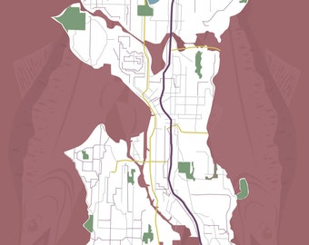 Seattle Map no. 2