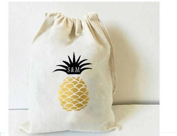 Favor bag, Aloha favor bag, Hawaii favor bags, destination wedding ...