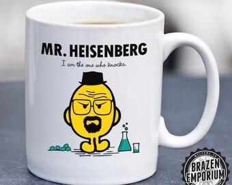 Mr Heisenberg Breaking Bad / Mr Men MashUp Funny Coffee - Tea Mug ©