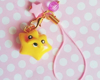 Jake The Dog Ditto Inspired Adventure Time Polymer Clay Strap Charm