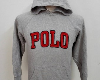 Vintage POLO by Ralph Lauren Pullover Hoodie Small Size