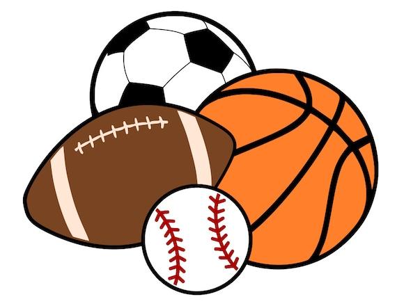 Sports Balls Basketball Soccer Football Baseball