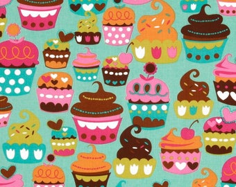 Cupcake Fabric by Michael Miller, Sweet Treats Fabric