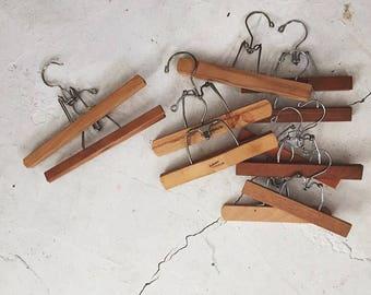 """Vintage Pant Hanger - 10-12"""" Inches Long, Print Hanger, Photo Hanger, Poster Hanger, Poster Frame, Farmhouse Decor"""