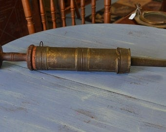 Early 1900s Amish Sausage Stuffer