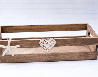 Personalized Wooden Tray Wedding tray Unity Sand Set Tray Beach Wedding Tray Wedding Decor Rustic Wooden Tray Gift