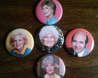 Golden Girls Button Set