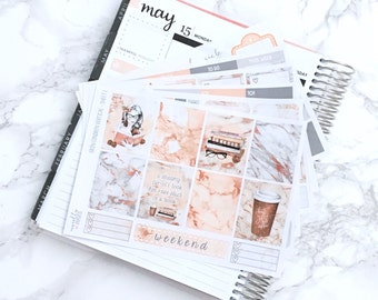 Beauty and the Books DELUXE Kit Planner Stickers - For Erin Condren Vertical Life Planner