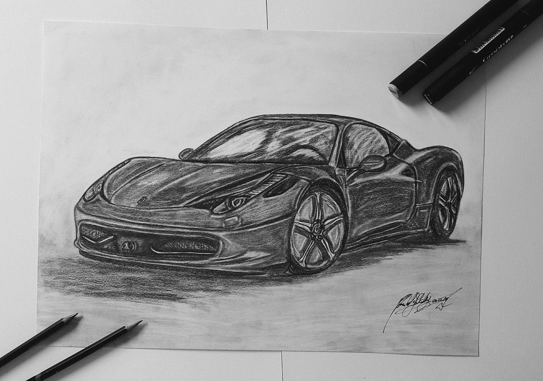 Ferrari 458 italia dessin ferrari voiture dessin dessin - Dessin de ferrari ...