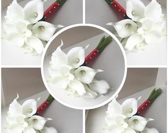 Calla Lily Bridesmaid Bouquets