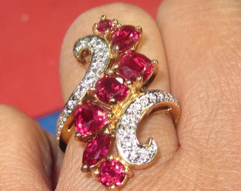 Q-19 Vintage Ring  size 7 925 silver
