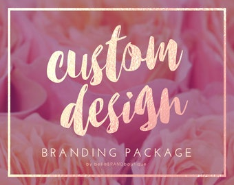 Custom Branding Package • Professional One Of A Kind Design • Custom Branding  • Brand Identity • Branding Set