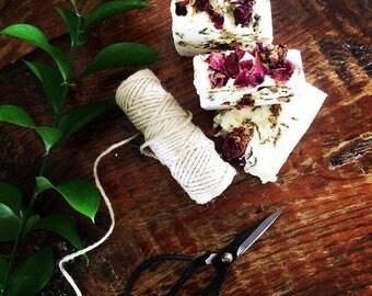 Wild Irish rose organic Shea butter Rose petal soap
