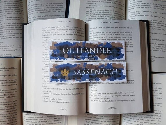 Outlander Thick Watercolour Bookmark