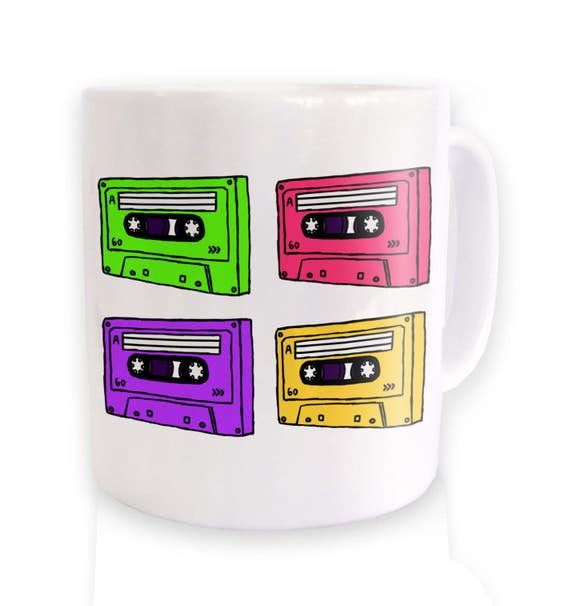 Pop Art Cassettes Mug