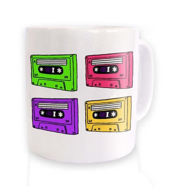 Pop Art Cassettes Mug