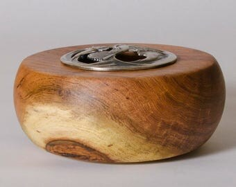 Mesquite Bowl,Potpourri Bowl,Lidded Bowl,Wood Bowl,Small Mesquite Bowl,Trinket Bowl,Jewelry Bowl,Hand Turned Bowl,Wood Bowls For Sale 7-010