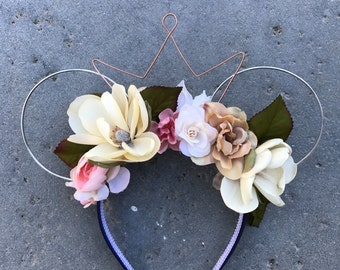 Natural Floral Wire Ears