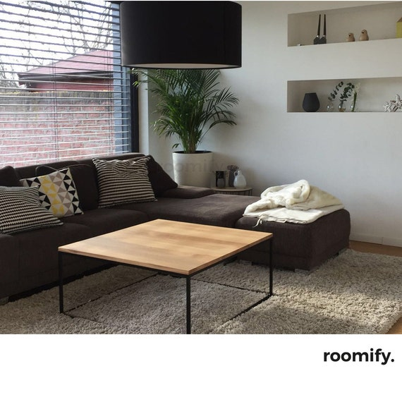 Roomify couchtisch domi black loft design industrial for Wohnzimmertisch industriedesign